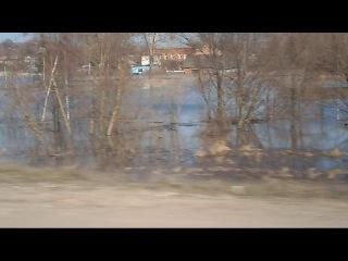 Паводок в Полотняном Заводе 2013